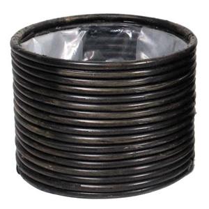 Basket Peridot d20xh15 black