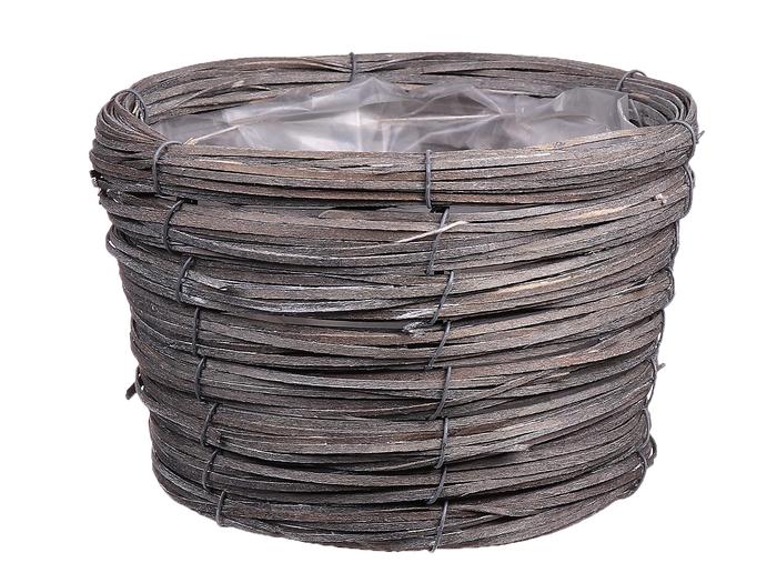 <h4>DF470603600 - Basket Paia d17xh12 light grey</h4>