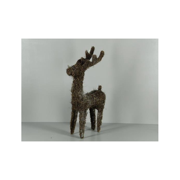 <h4>Deer Rattan Frosted 53cm</h4>