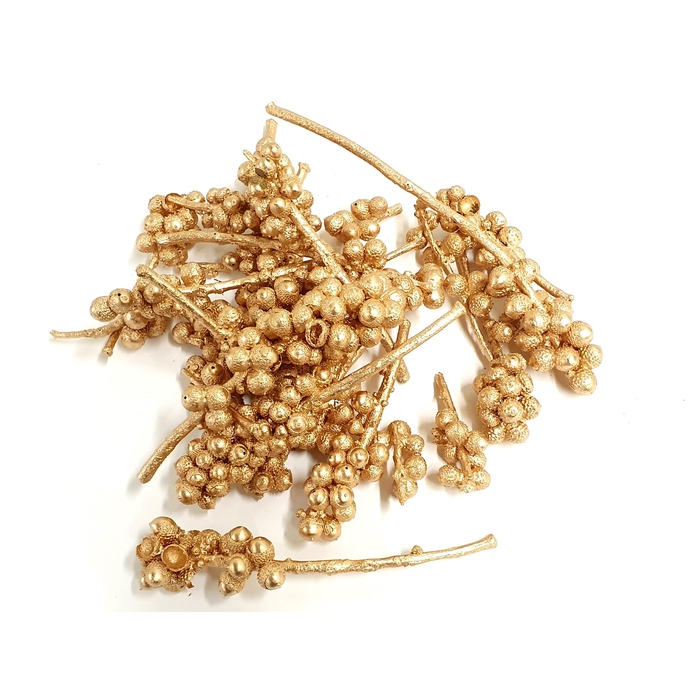 <h4>Acorn bunch 250gr in poly Antique Gold</h4>