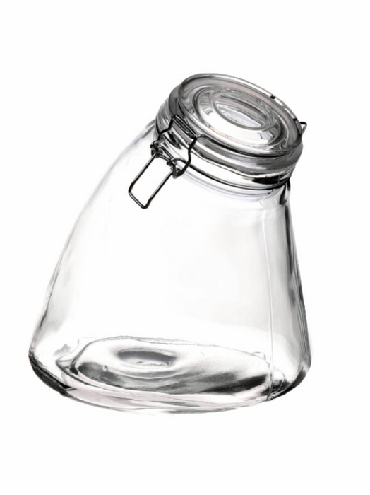 <h4>DF480010700 - Storage pot Amette d9.3/17.3xh19 clear</h4>
