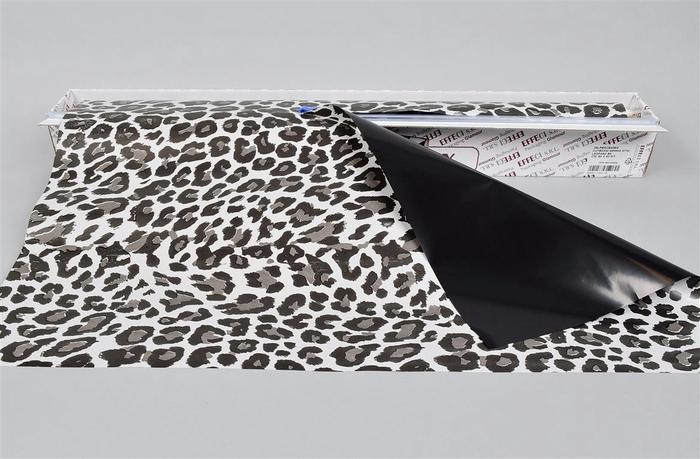 <h4>Folie Cut-box Leopard Black 70cmx50m</h4>
