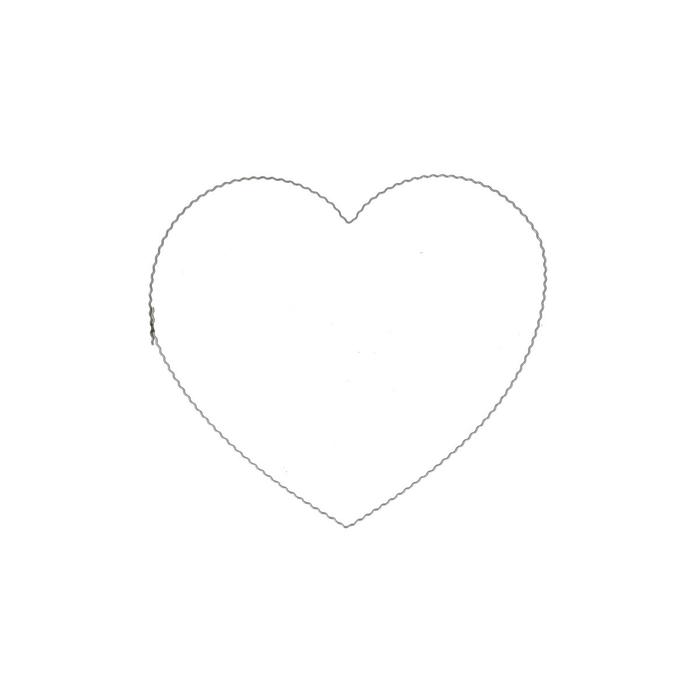 <h4>Liefde Hart draad 20cm x10</h4>