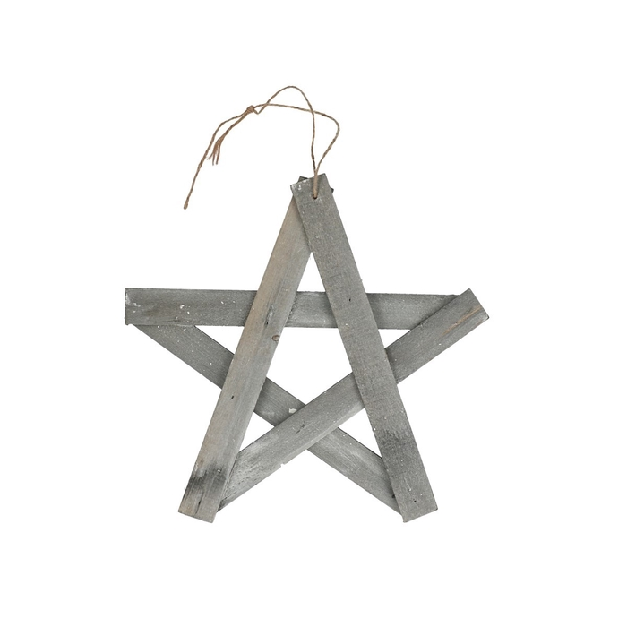 <h4>Sale Christmas Hanging star wood open 30cm</h4>