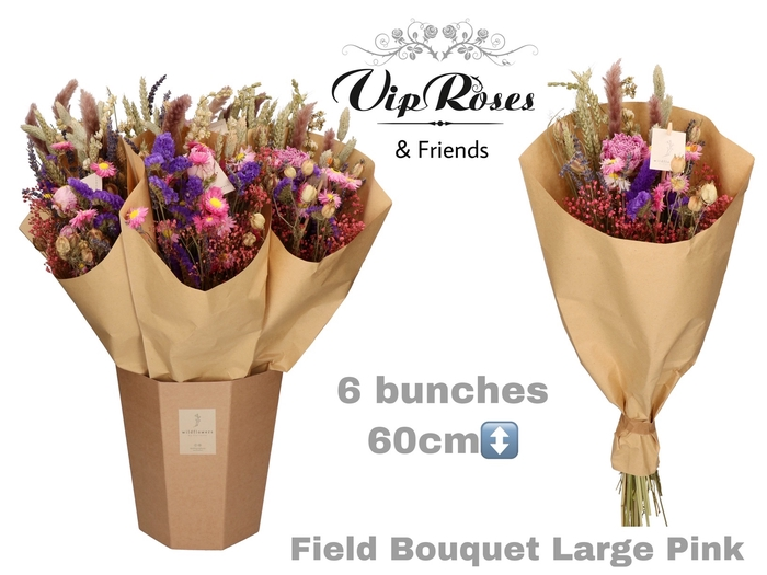 <h4>DRIED BOUQUET LARGE PINK</h4>