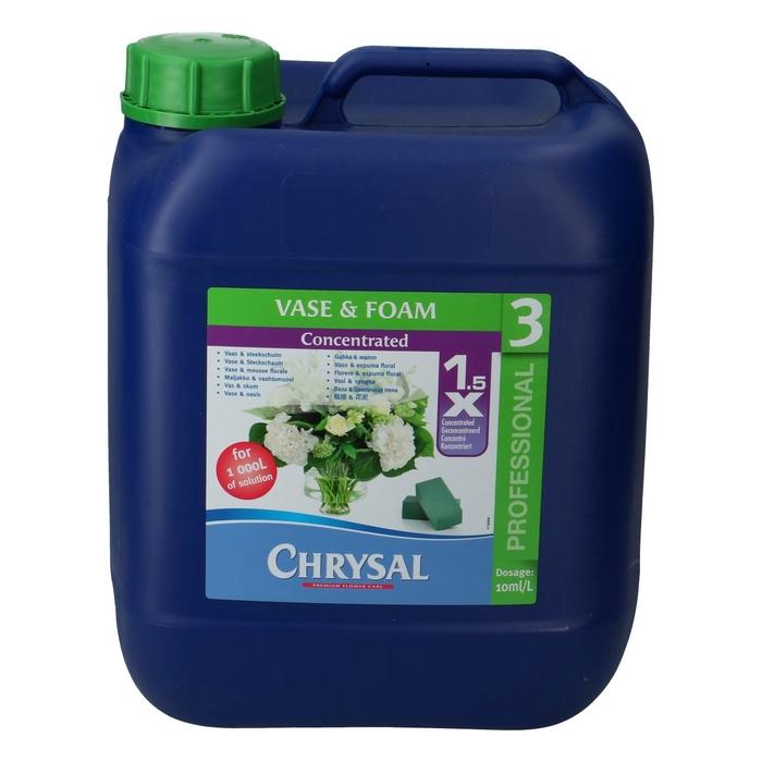 <h4>Verzorging Chrysal Prof.3 vloeib. 10ltr</h4>