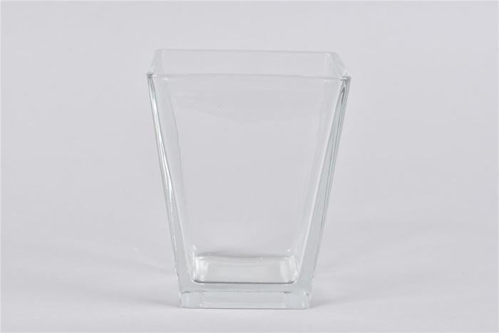 <h4>Glas Vaas Vierkant Konisch 11,5x14cm Nm</h4>