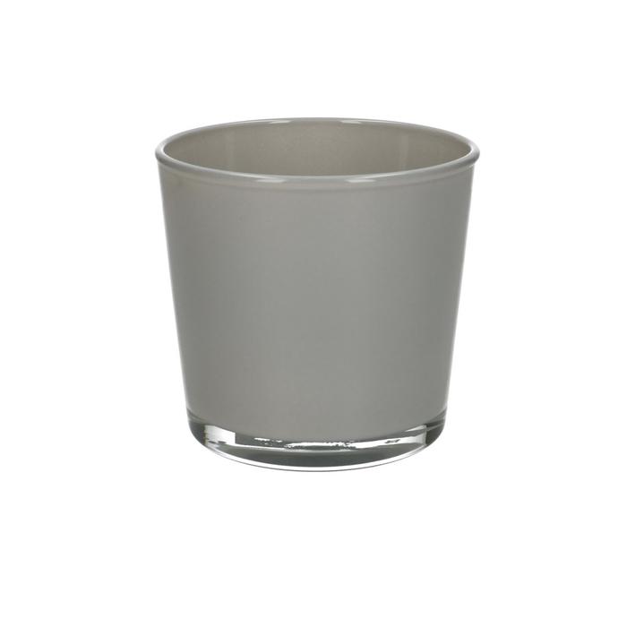 <h4>Glass colour Pot Conner d11.5*11cm</h4>
