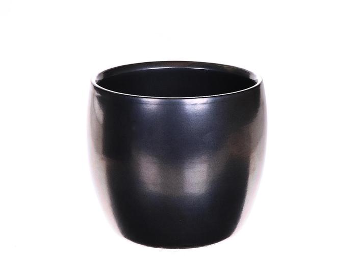 <h4>DF884336400 - Pot Bartha d13.5xh13 silver</h4>