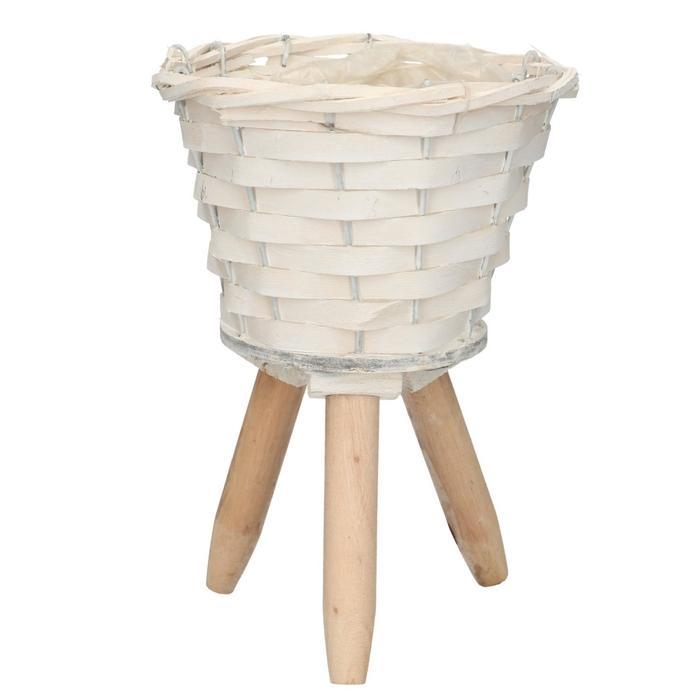 <h4>Baskets Pot/feet chip d19*27cm</h4>