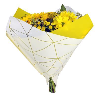 <h4>Housses 35x35cm OPP50 Oblique Diesel jaune</h4>