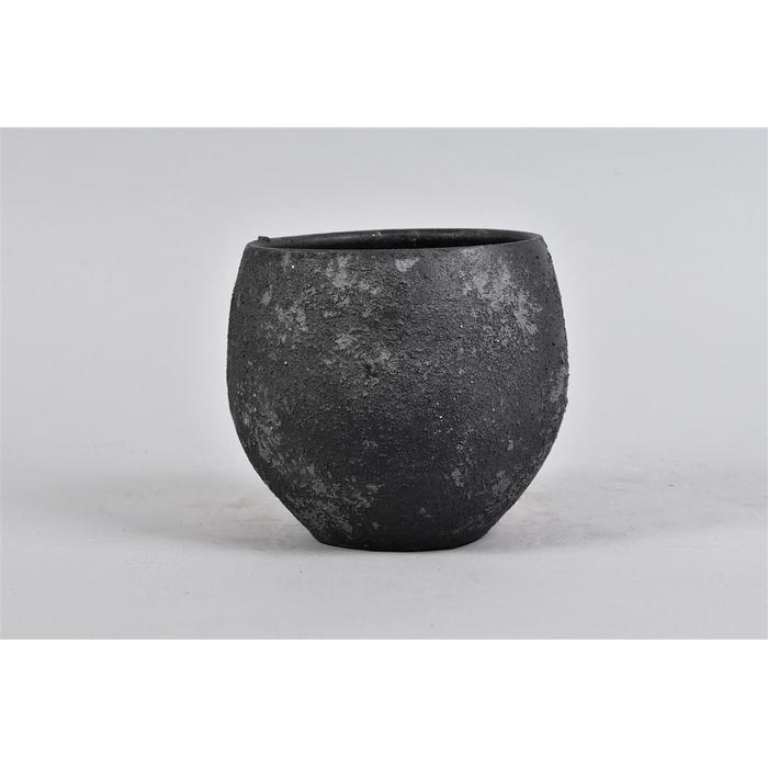 <h4>Bali Black Coal Pot 18x16cm</h4>