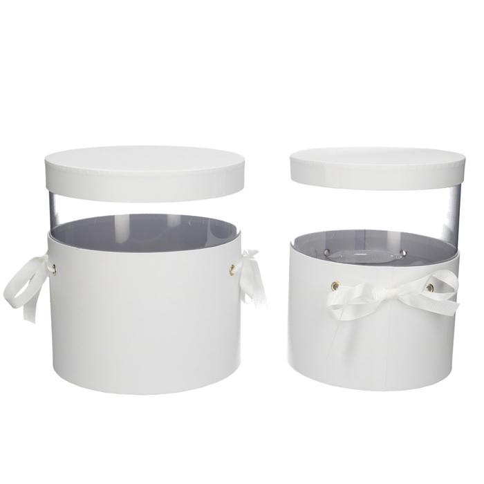 <h4>Bouquetholder Hatbox Pandore S/2 d21*25cm</h4>