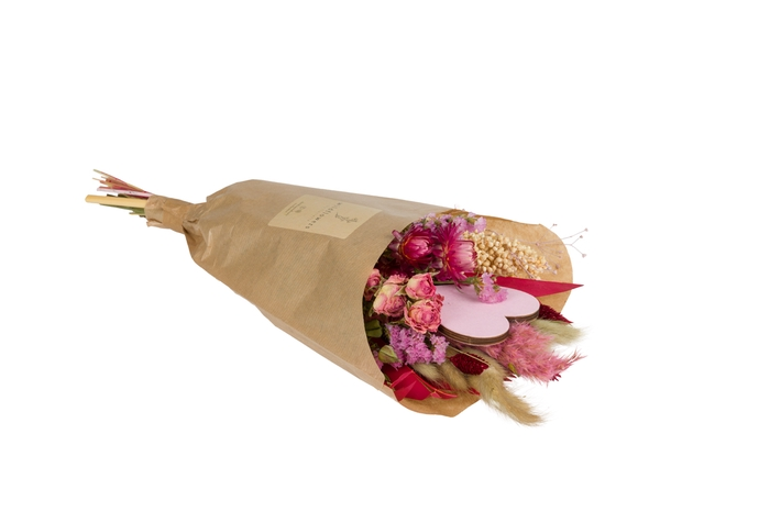 <h4>FIELD BOUQUET SMALL LOVE PINK-RED</h4>