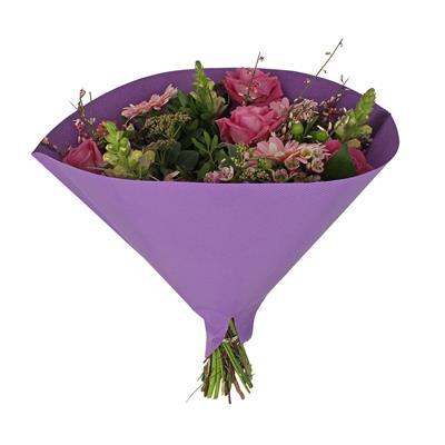 <h4>Houss 35x35cm Angelo 70gr kraft blanc violet</h4>