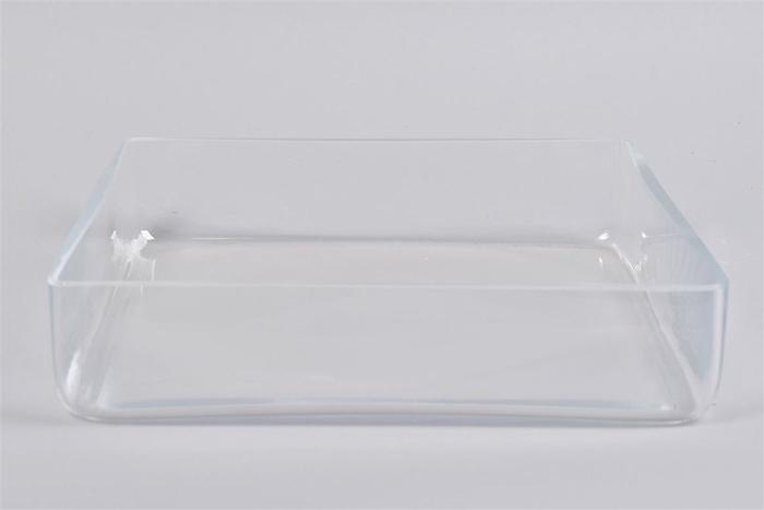 <h4>Glas Schaal Vierkant Cc 30x30x7cm Nm</h4>
