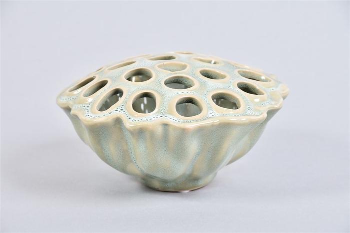 <h4>Lotus Schaal Aqua/mint 14x8cm</h4>