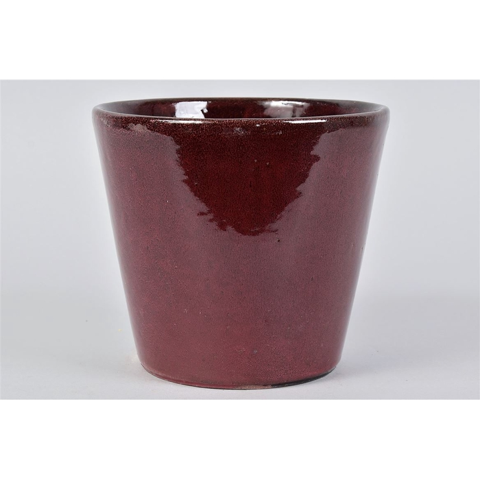<h4>Alicante Ruby Red Pot 20x18cm</h4>