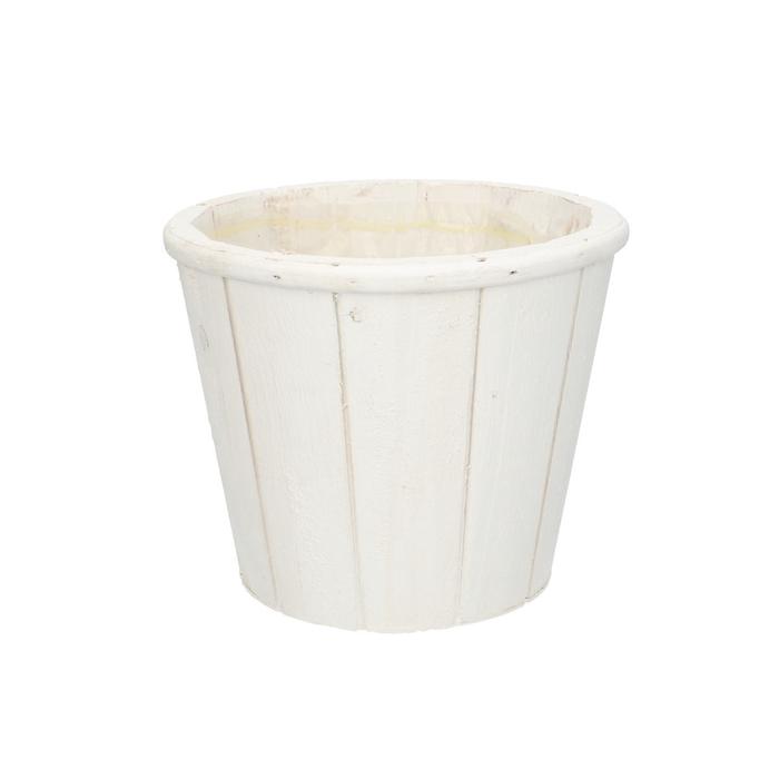<h4>Hout Pot Suus d14.5*12cm</h4>