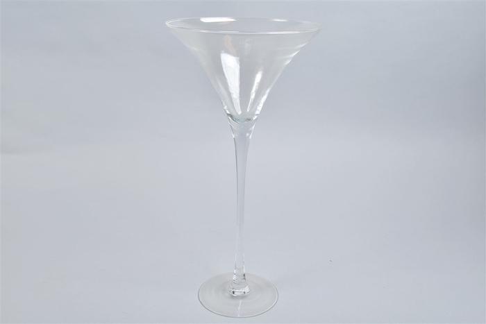 <h4>Glas Martini Op Voet 25x50cm</h4>