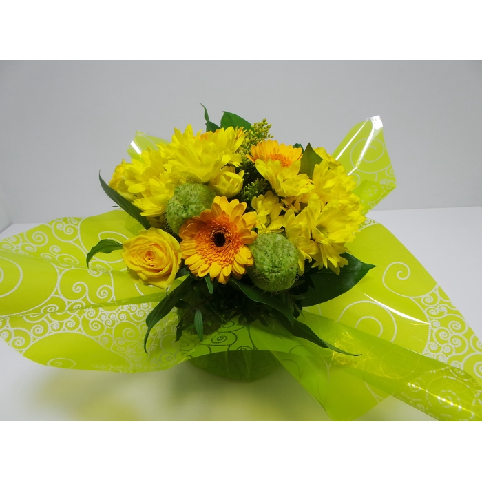 <h4>Bouquet Aqua Medium Yellow</h4>