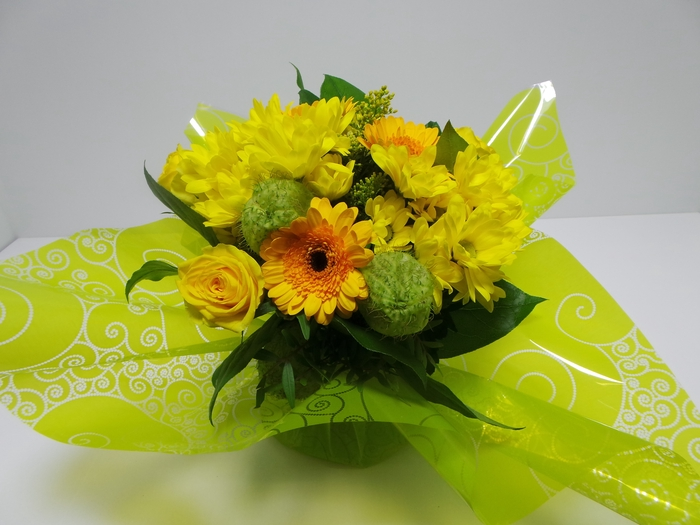 <h4>Bouquet Aqua Medium Yellow</h4>