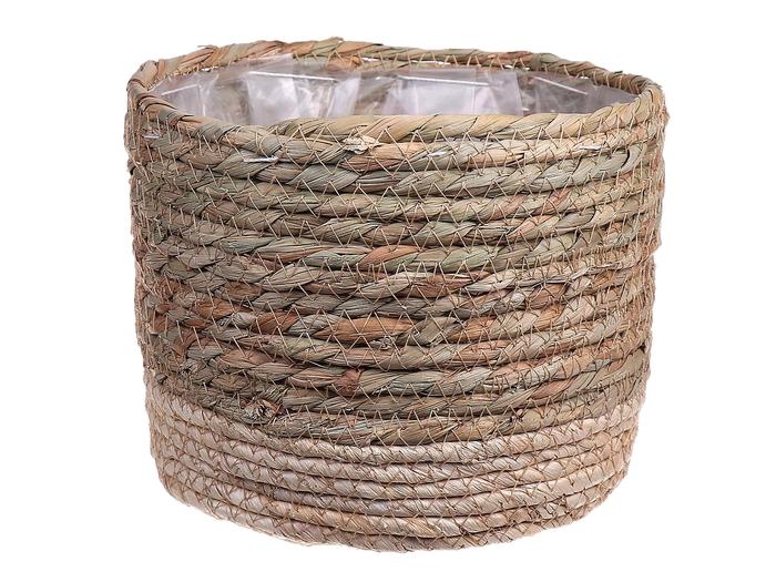 <h4>DF663370175 - Basket Casey d18.5xh14.5 natural/beige</h4>