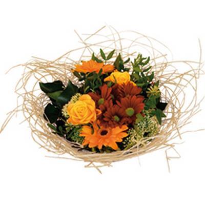 <h4>Support à bouquet woody Ø25cm créme</h4>