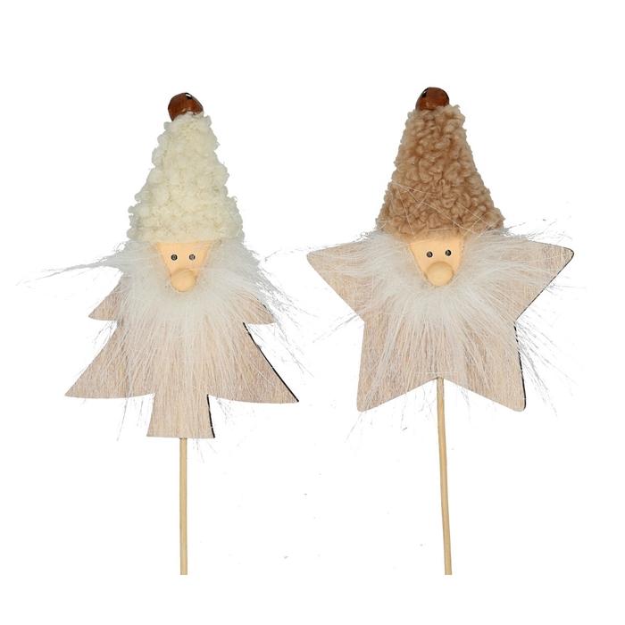 <h4>Christmas sticks 20cm Wizard 9cm ass.</h4>