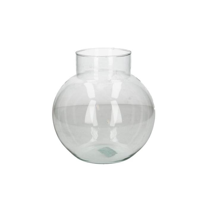 <h4>Glass Ball vase Damon d12/19*20cm</h4>