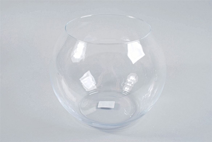 <h4>Glas Bol Vaas 26x24cm</h4>