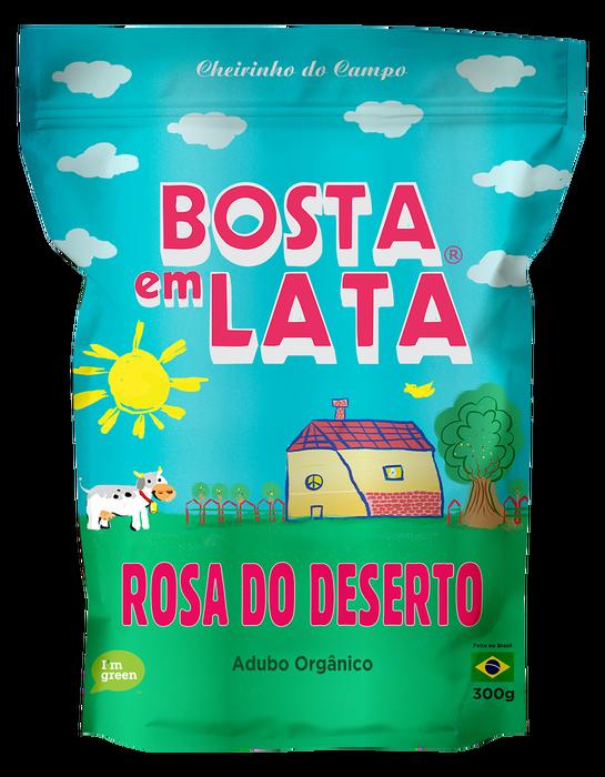 <h4>FERTILIZANTE ORGANICO BOSTA EM LATA PARA ROSAS DO DESERTO ZIPADO 300G</h4>
