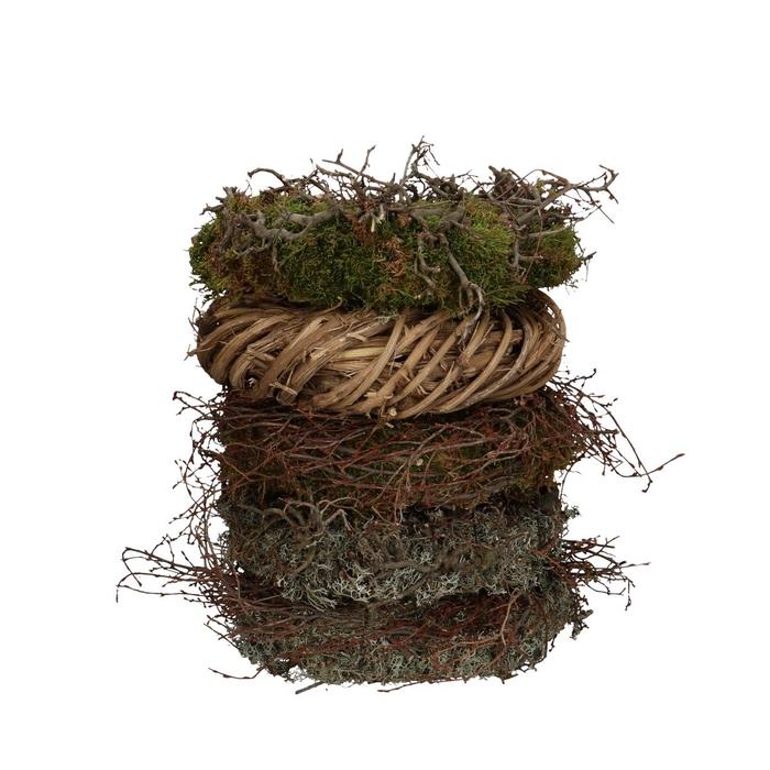 <h4>Wreath d30cm Mix assorti</h4>