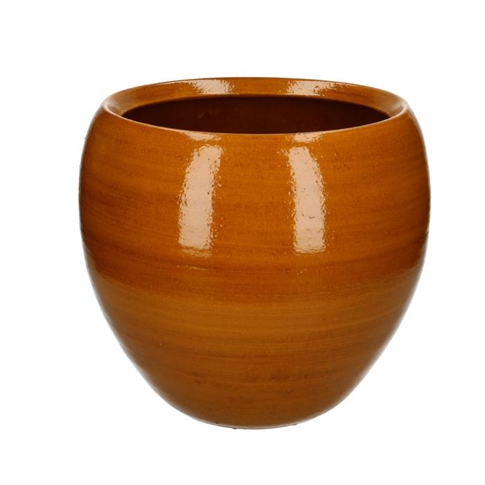 <h4>Ceramics Cresta pot d21/28*25cm</h4>