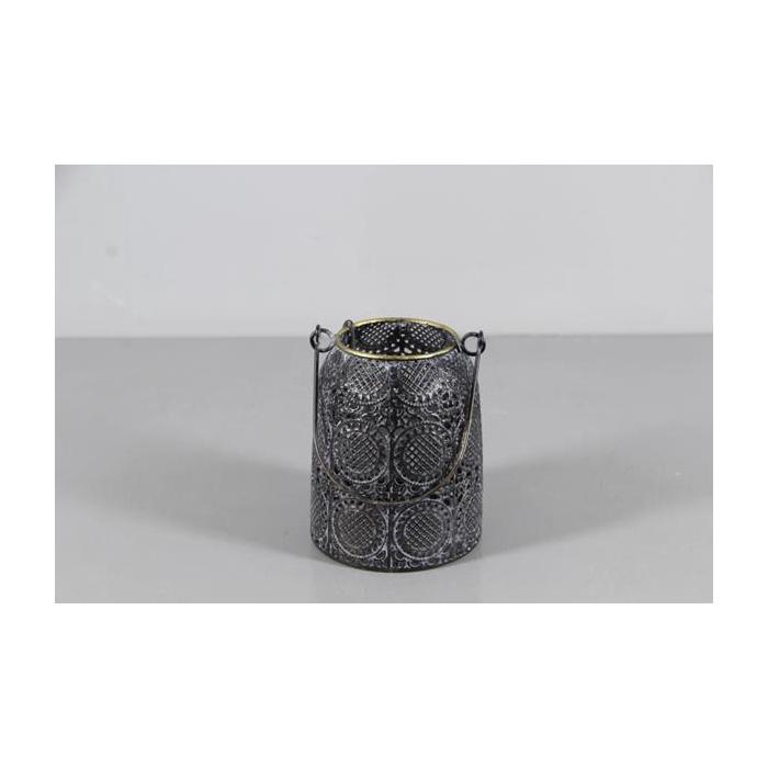 <h4>Lantern Mtl Ø 11x14cm Ant.blck</h4>
