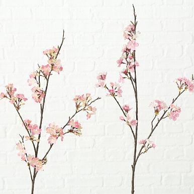 <h4>Zijde, Kersenbloesem, H 107 cm, 2 ass, Pink, Rose</h4>