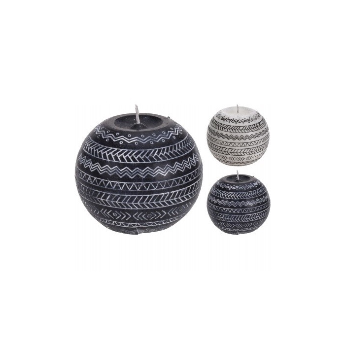 <h4>Candle Ball 8cm Ass</h4>