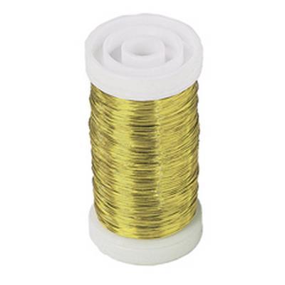 <h4>Myrtendraad 0,3mm goud klos 100gr</h4>