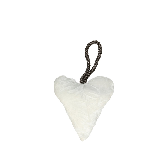 <h4>Liefde Hanger hart velvet 13*15cm</h4>
