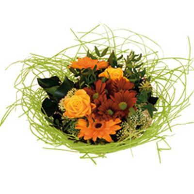 <h4>Bouquet holder woody Ø25cm light green</h4>