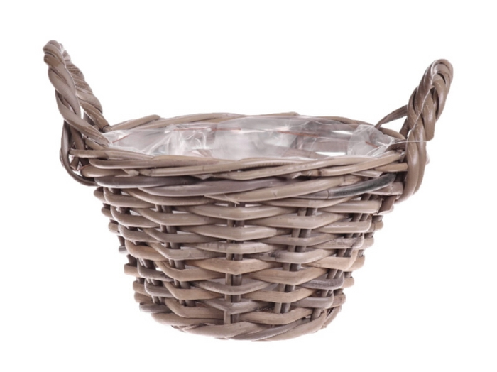 <h4>Deco. DF05100 Basket Pierron grey M</h4>