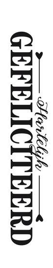 <h4>FLORAL CARD DUTCH HARTELIJK GEFELICITEERD 25PCS FCC-7908</h4>