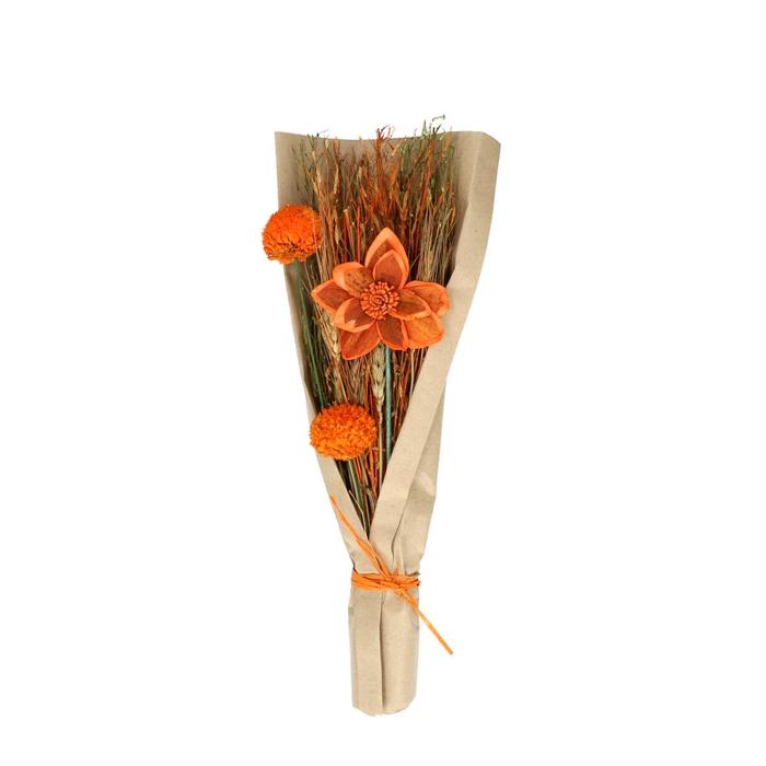 <h4>Promo Boeket Flat blooms 42cm</h4>