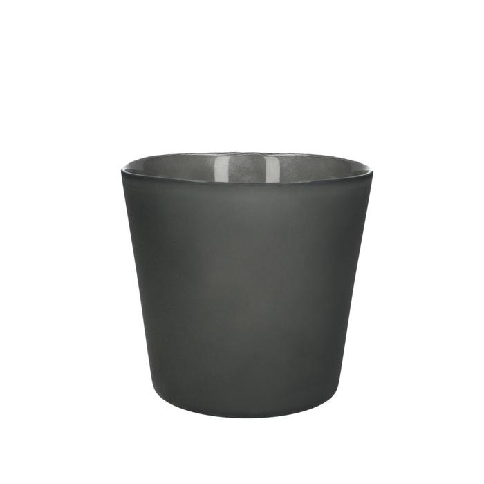 <h4>Glas kleur Pot Nashville mat d13*12.5cm</h4>