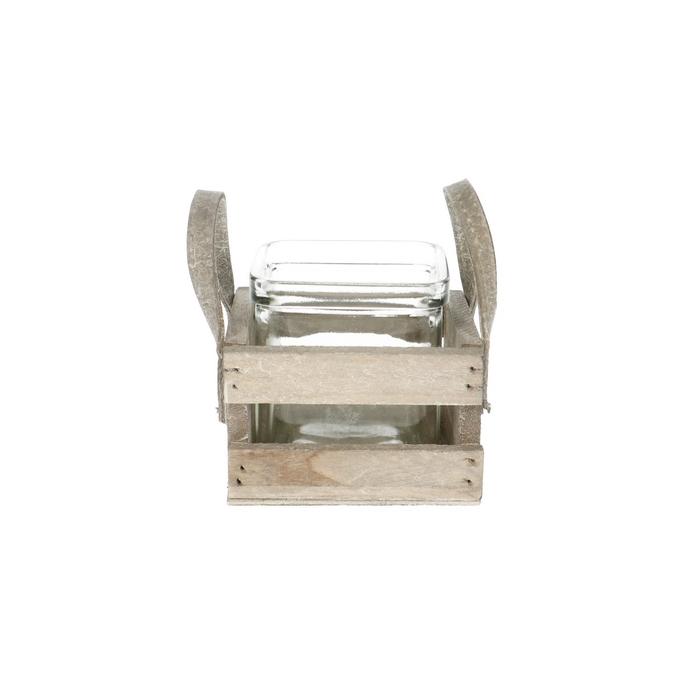 <h4>Glas Tray+hv 1bak d7.5*7.5cm</h4>