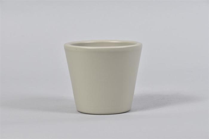 <h4>Vinci Pistache Pot Container 12x10cm</h4>