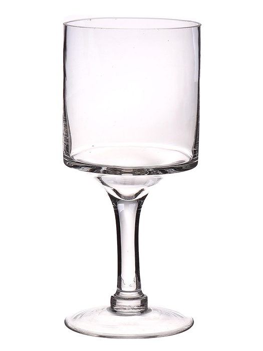 <h4>DF560180400 - Candleholder Gracie d9xh20 clear</h4>