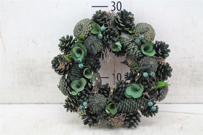 <h4>5327 Wr. Noble Green Christmas D30 H7 H7d30cm</h4>
