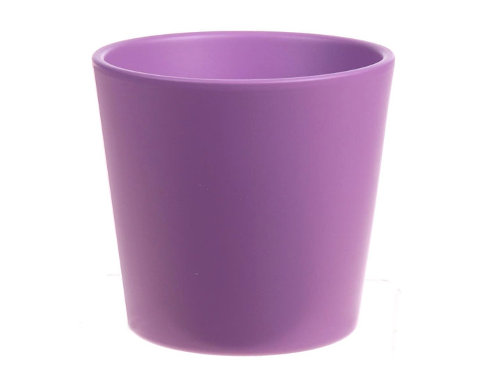<h4>DF885093800 - Pot Dida d13.5xh12.5 lavender matt Tray/</h4>