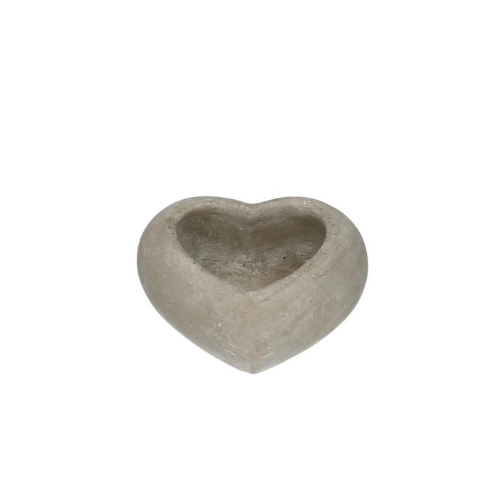 <h4>All Saints Planter heart d15/9*6cm</h4>